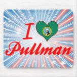 I Love Pullman, Washington Mouse Pad