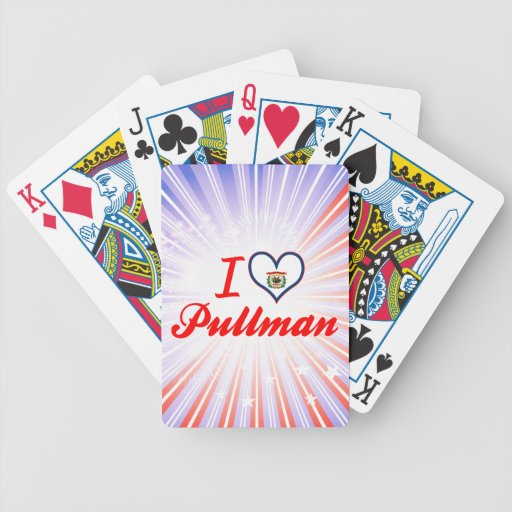 I Love Pullman, West Virginia Deck Of Cards