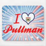 I Love Pullman, West Virginia Mouse Pad