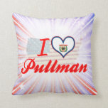 I Love Pullman, West Virginia Pillows