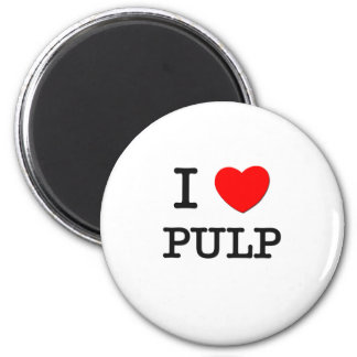 I Love Pulp Magnets