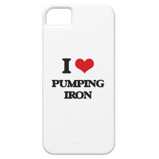 I love Pumping Iron iPhone 5 Cover