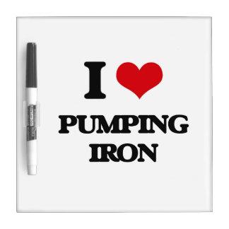 I love Pumping Iron Dry Erase Board