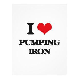 "I love Pumping Iron 8.5"" X 11"" Flyer"