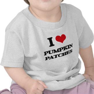 I love Pumpkin Patches T Shirts