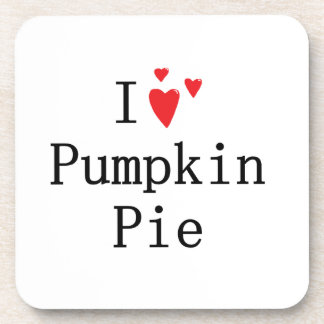 I love Pumpkin Pie Drink Coasters