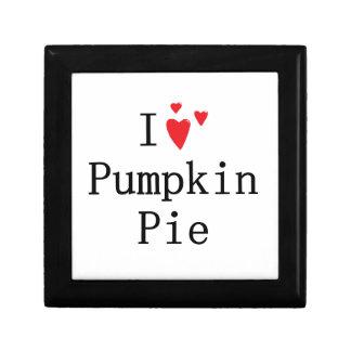 I love Pumpkin Pie Gift Box