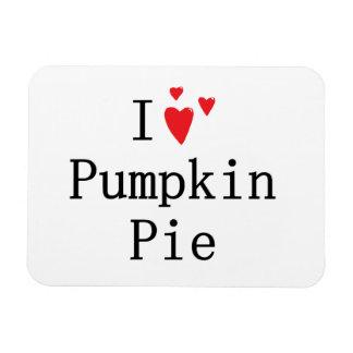 I love Pumpkin Pie Magnet
