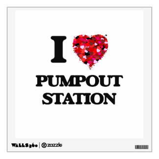 I love Pumpout Station New Jersey Wall Graphics