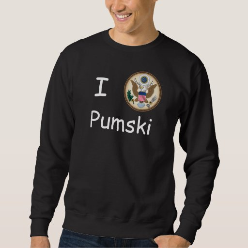 I Love Pumski Presidential US Great Seal T-Shirt