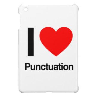 i love punctuation iPad mini cover