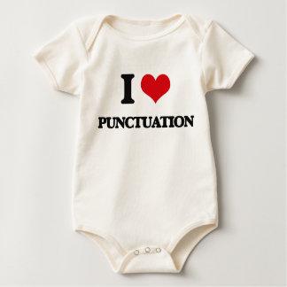 I Love Punctuation Romper