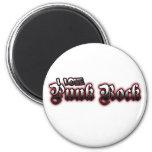 I Love PUNK ROCK Music Refrigerator Magnets