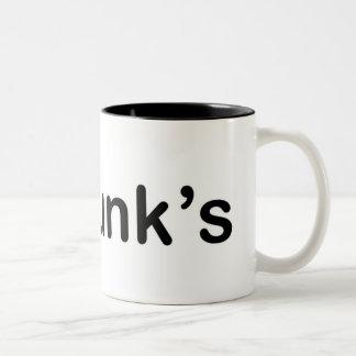 I Love Punks Two-Tone Coffee Mug