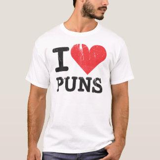 I Love Puns Basic T-Shirt