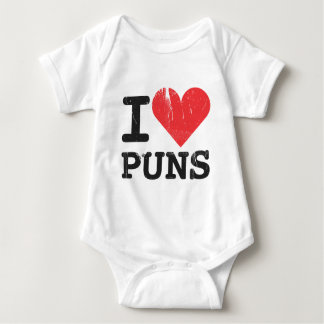 I Love Puns Infant Shirt