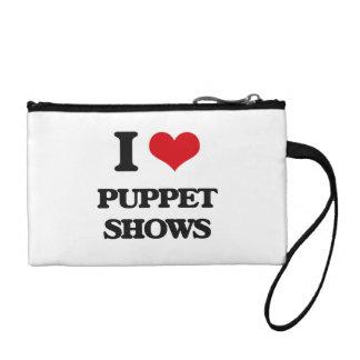 I love Puppet Shows Change Purse