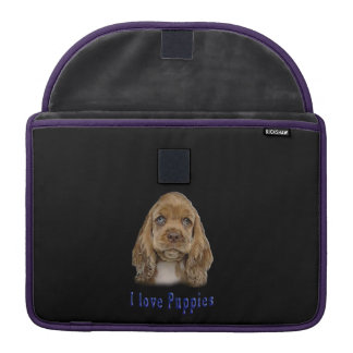 I love puppies sleeve for MacBook pro