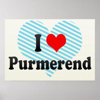 I Love Purmerend, Netherlands Poster