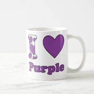 I love Purple Coffee Mug