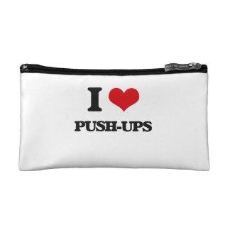 I Love Push-Ups Cosmetic Bag