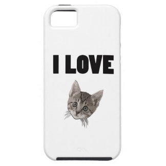 I LOVE PUSSY iPhone SE/5/5s CASE