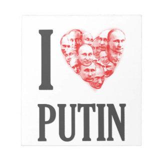 I love Putin Notepad