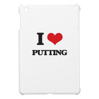 I Love Putting iPad Mini Cover