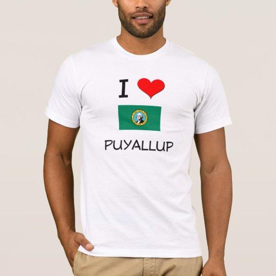 I Love Puyallup Washington T-Shirt