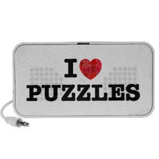 I Love Puzzles Doodle Speaker