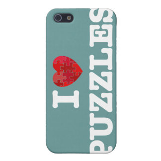I Love Puzzles Speck Case iPhone 5 Cases