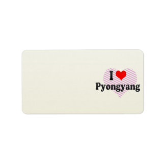 I Love Pyongyang, Korea Label