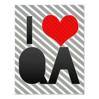 I Love QA Card