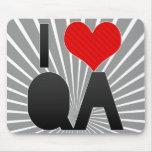 I Love QA Mousepad