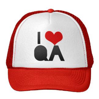I Love QA Trucker Hat