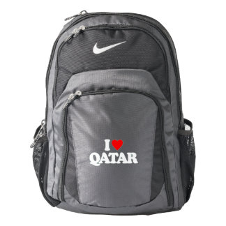 I LOVE QATAR BACKPACK