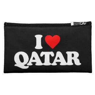 I LOVE QATAR COSMETIC BAG