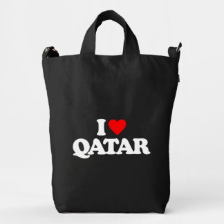 I LOVE QATAR DUCK BAG