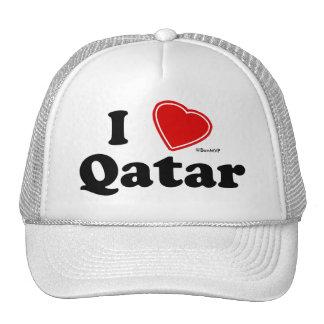 I Love Qatar Hats