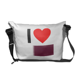 i love qatar messenger bags