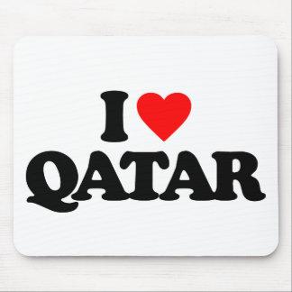 I LOVE QATAR MOUSE PAD