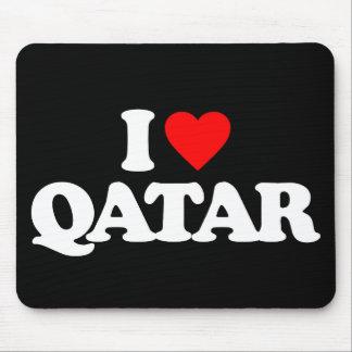 I LOVE QATAR MOUSEPAD