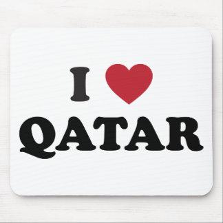 I Love Qatar Mouse Pads
