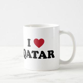 I Love Qatar Coffee Mug