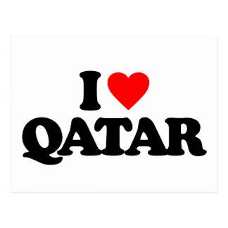 I LOVE QATAR POSTCARD