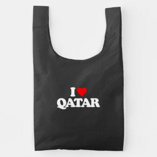 I LOVE QATAR REUSABLE BAG