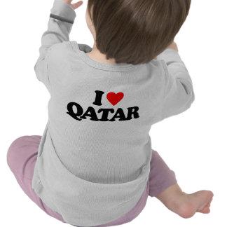 I LOVE QATAR T-SHIRTS