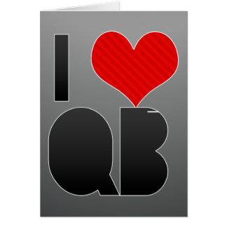 I Love QB Card