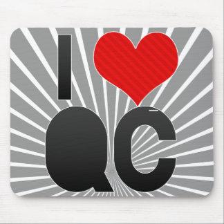 I Love QC Mouse Pad