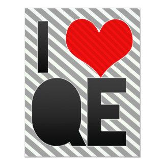 I Love QE Card